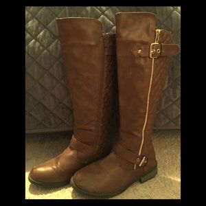 🍁 brown riding boots